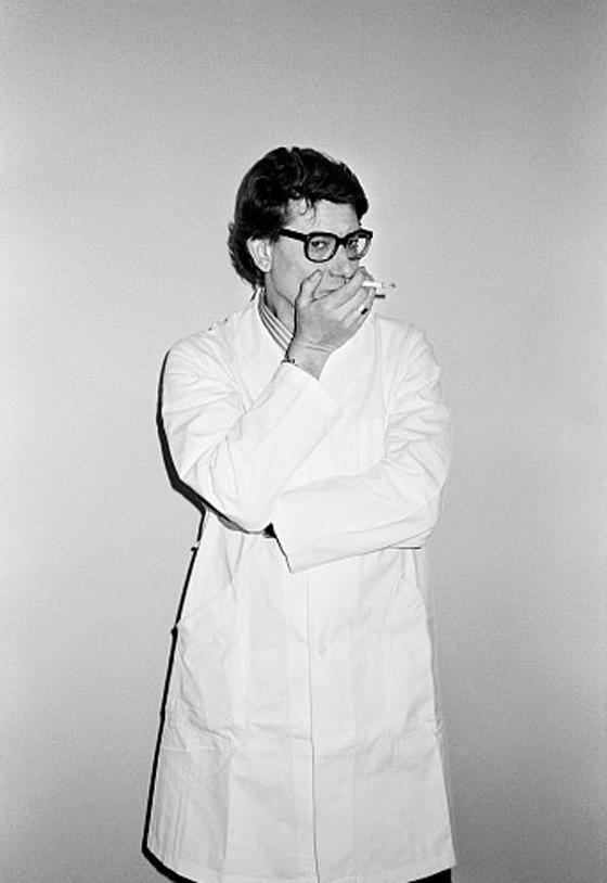 Et Puis Je Fume, Yves Saint Laurent, ca., 1985