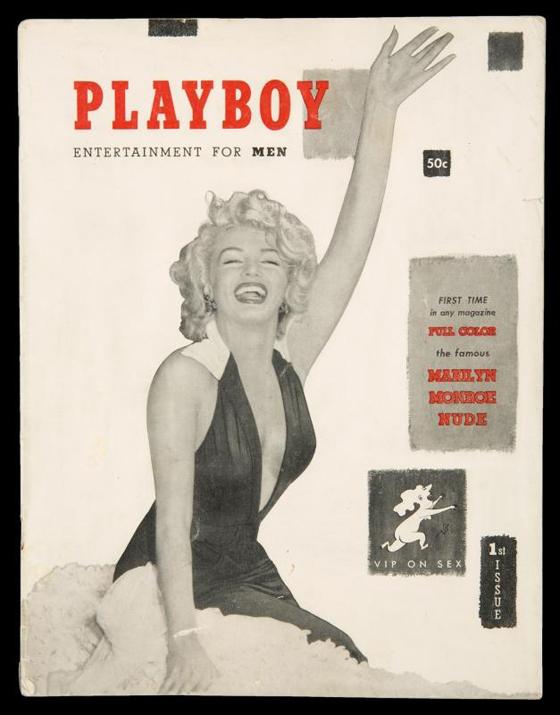 MARILYN MONROE FIRST ISSUE OF PLAYBOY MAGAZINE, EST. $3-5,000