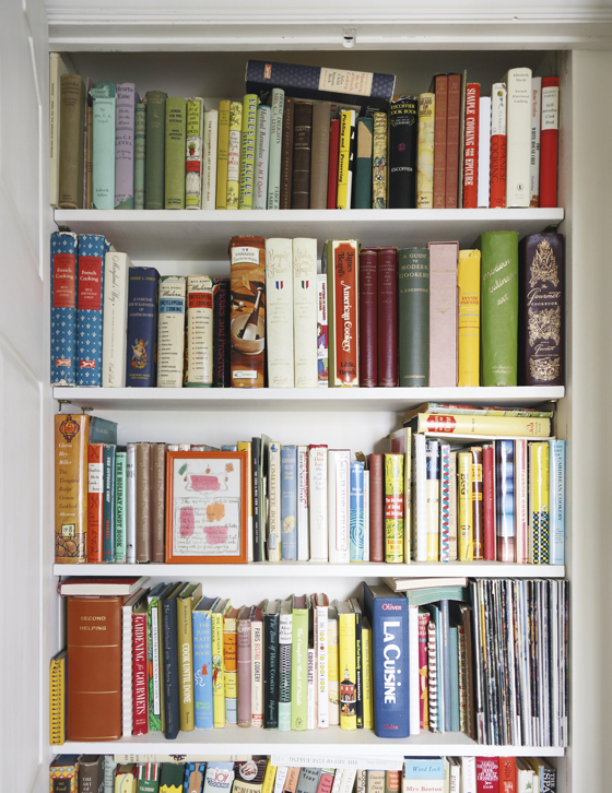 A GROUP OF COOKBOOKS AND BOOKS ON ENTERTAINING Est. $600 — 800; Sold $17,500