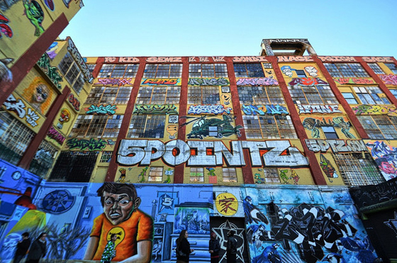 5 Pointz – demolished to make way for two new apartment towers