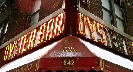Famous Oyster Bar – midtown fixture for 55 years until they were priced out of the space