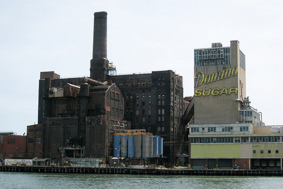 Domino Sugar Factory – demolished to make way for mixed used towers