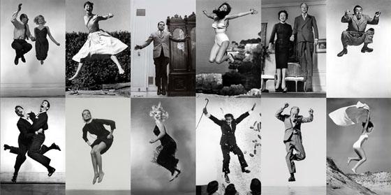 Philippe Halsman, Jump series, 1950s