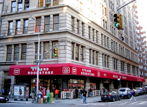 THE STRAND – An iconic used book store that's been a destination for nearly 100 years. They buy magazine editors review copies… I used to trade mine in here. Incredible rare books section on the top floor.