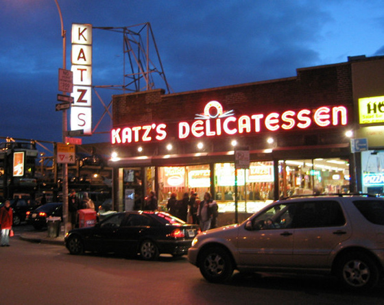 "KATZ'S DELICATESSEN – The infamous ""I'll have what she's having"" scene from ""When Harry Met Sally"" was shot at this deli that dates back to 1888."