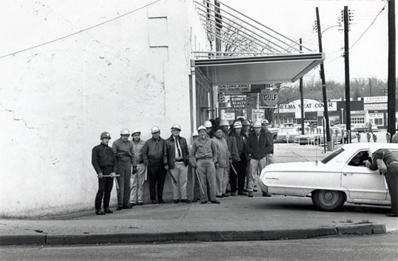 Charles Moore – Sherriff's Deputies Prepare To Confront Marchers, Selma, Alabama, March 7, 1965