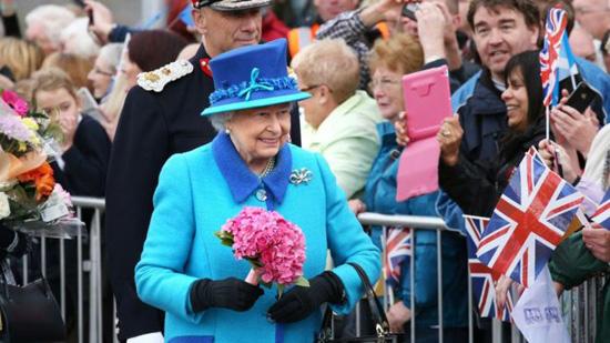 Queen Liz today