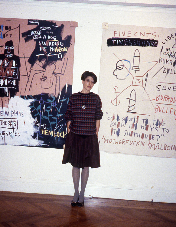 Paige Powell At 15 West 81st, New York City, 1983