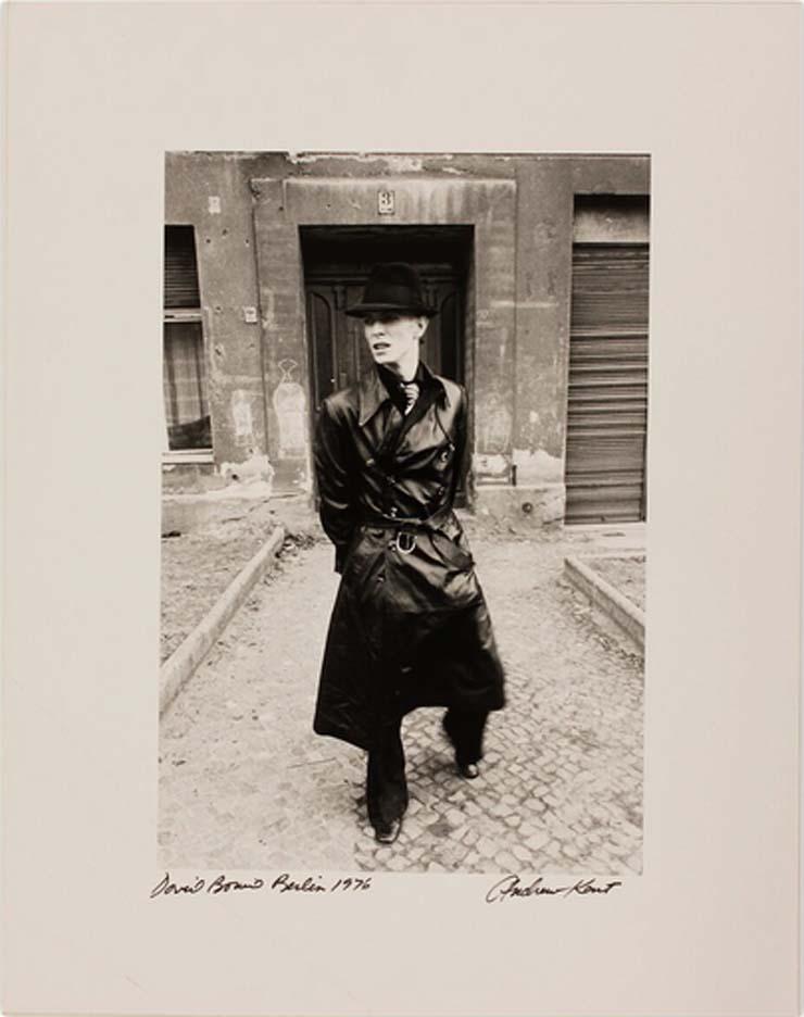ANDREW KENT   David Bowie, Berlin, 1976, $300