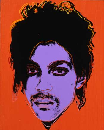 Prince by Warhol, 1984
