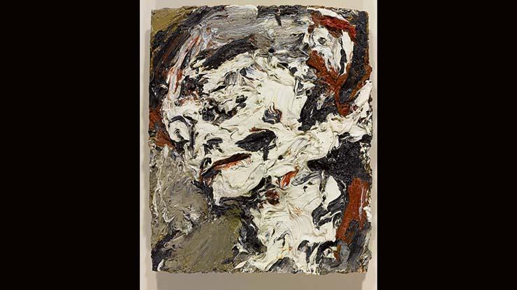Frank Auerbach, Head of Gerda Boehm, 1965