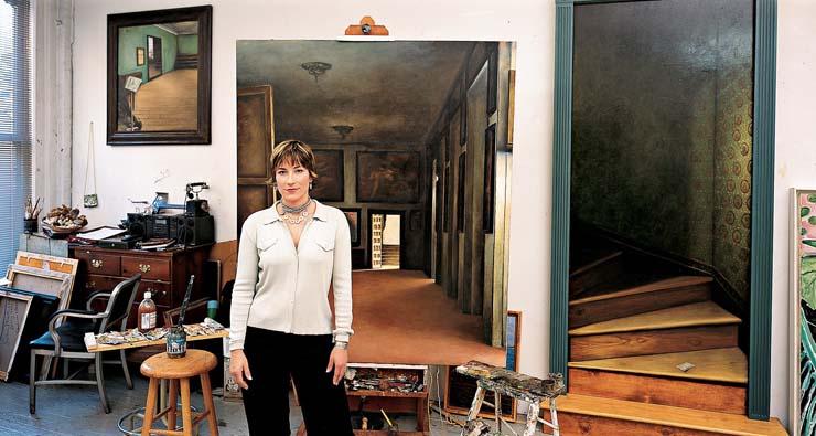 Sophie Matisse, great granddaughter of Henri, by Leibovitz