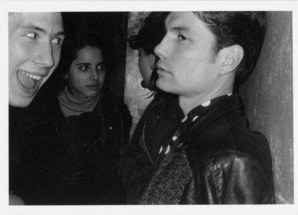 Walter, left and me, right. (Circa 80-something) Photo, David Scharff