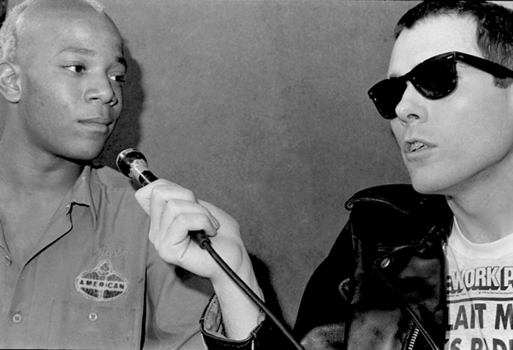 """Interviewing Basquiat for his """"TV Party"""""""