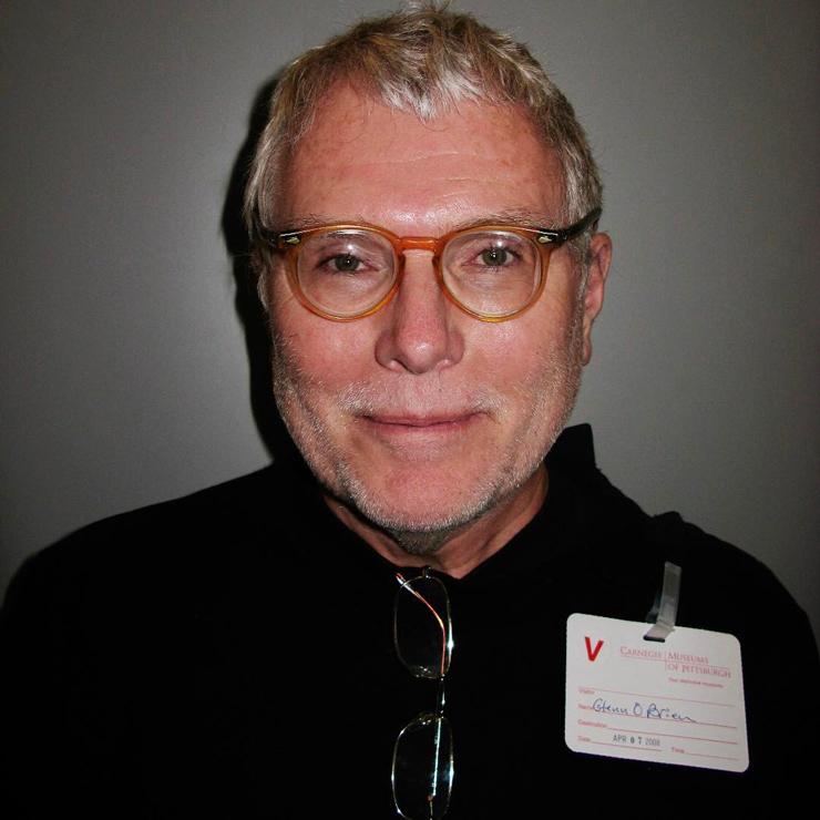 Wearing Warhol's glasses in 2008. Photo, Todd Eberle