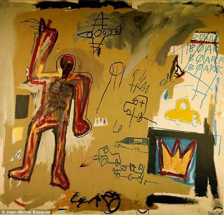 """Basquiat's """"Redman"""" was a gift from Red Granite to DiCaprio's charity foundation"""