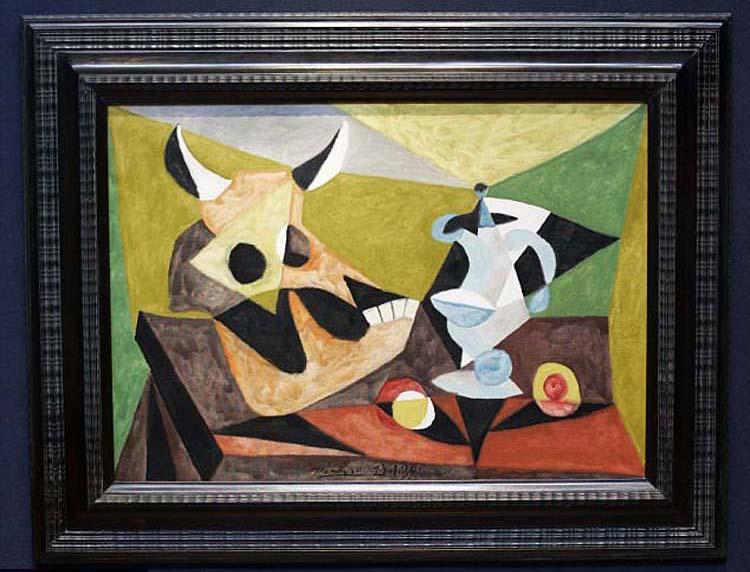 "Picasso's ""Nature Morte au Crane de Taureau"""