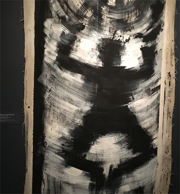 Hambleton died two days before the Club 57 show opened this Halloween night at MoMA, featuring one of his shadowmen