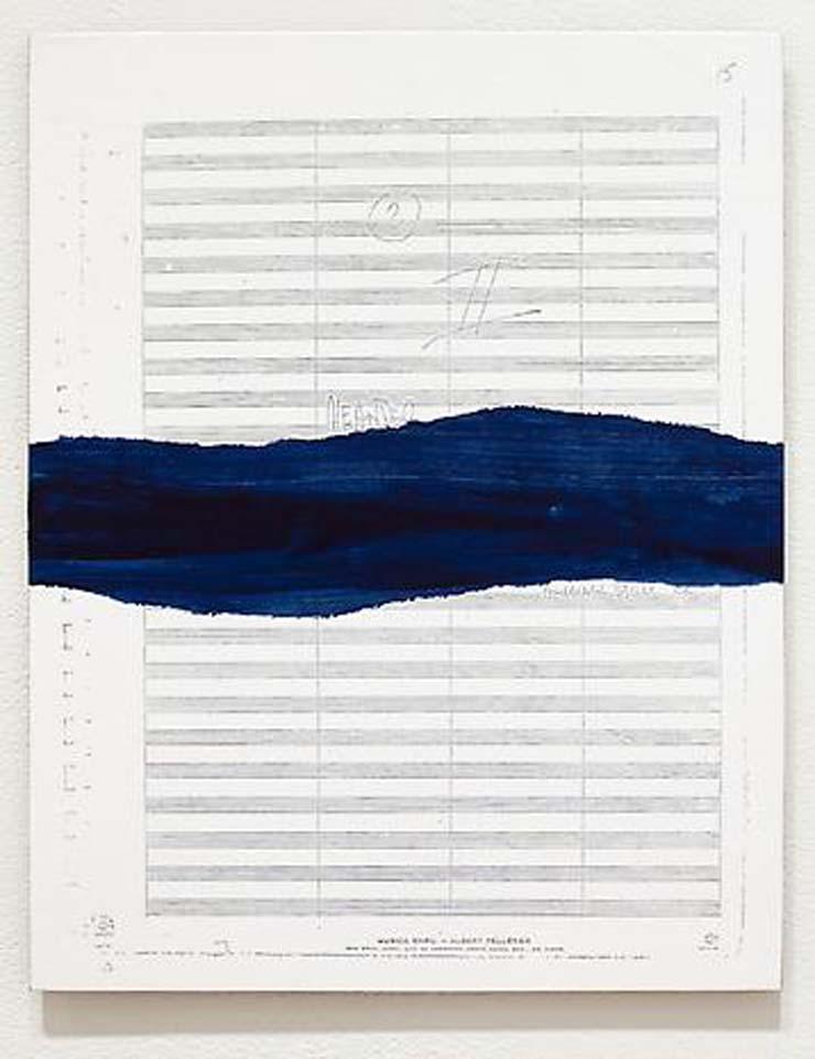 """TIM ROLLINS and K.O.S. The River – Meander II (after Edward """"Duke"""" Ellington) (detail), 2011"""