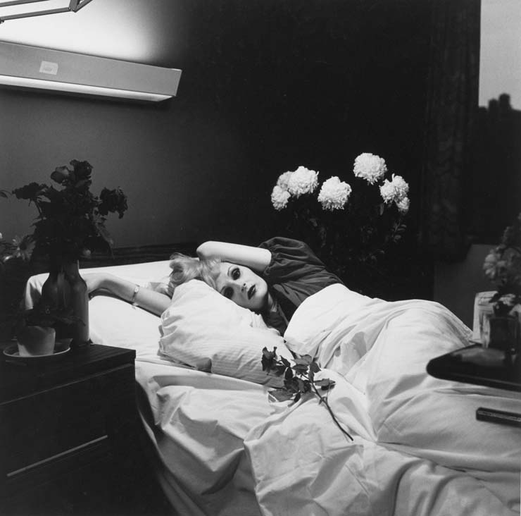 Peter Hujar, Candy Darling on her deathbed, 1973