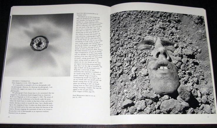 40th anniversary issue of Aperture spread. Design, Trey Speegle