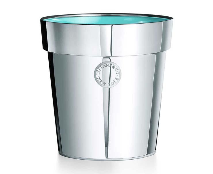 Sterling Silver Flowerpot, $1,450