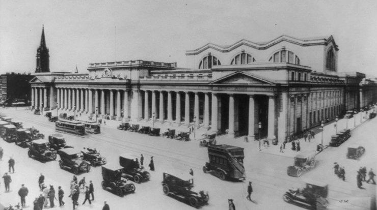 Penn Station circa, 1920