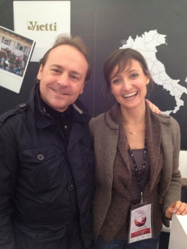With Les Crêtes' Lovely Elena...