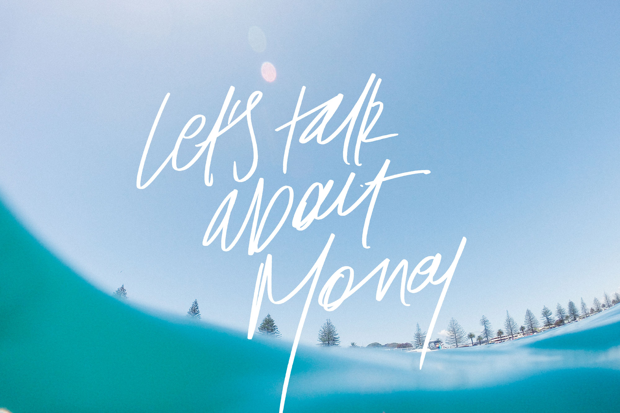Let's Talk About Money | freshbysian.com