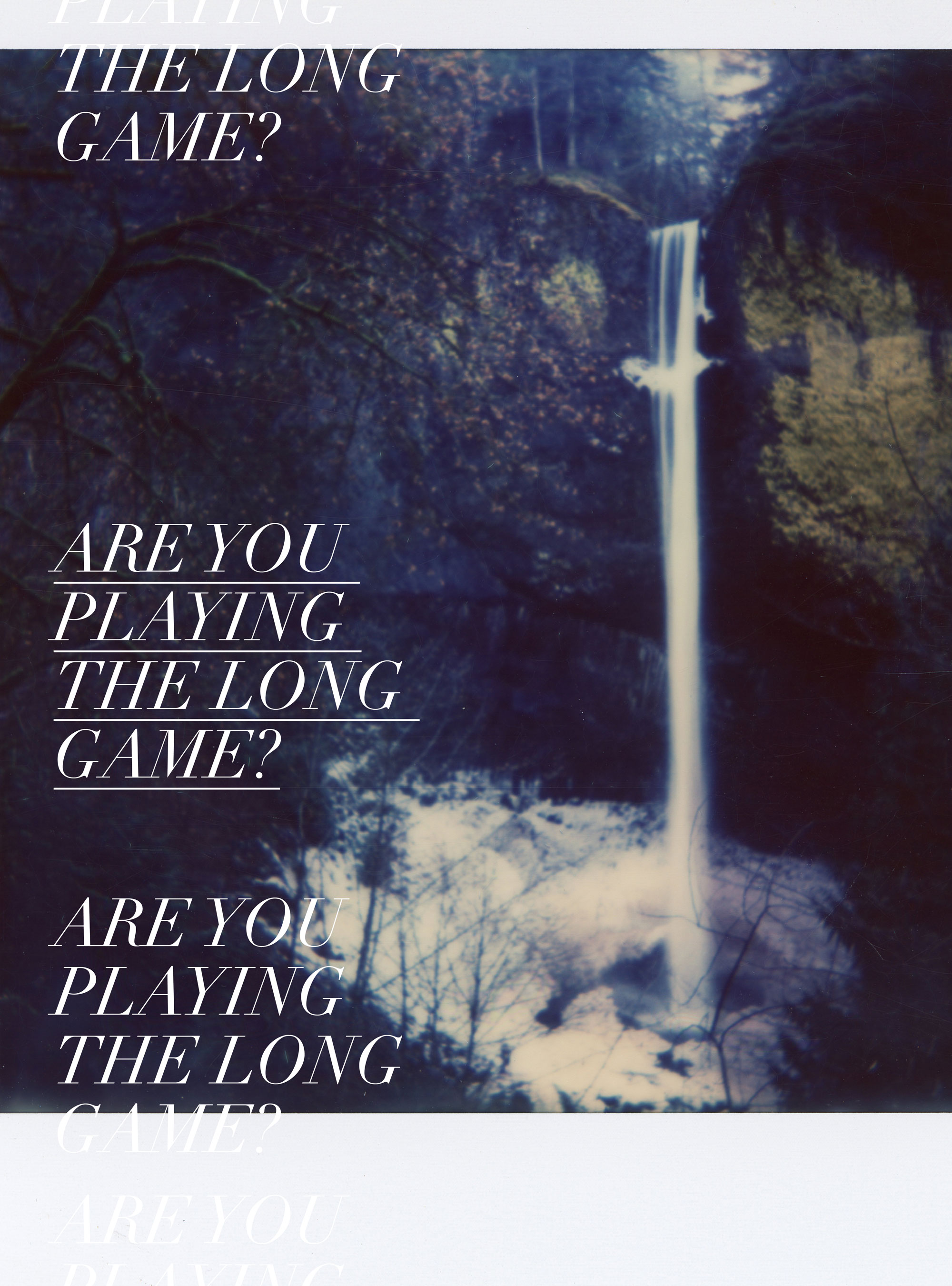 Are you playing the long game?   freshbysian.com