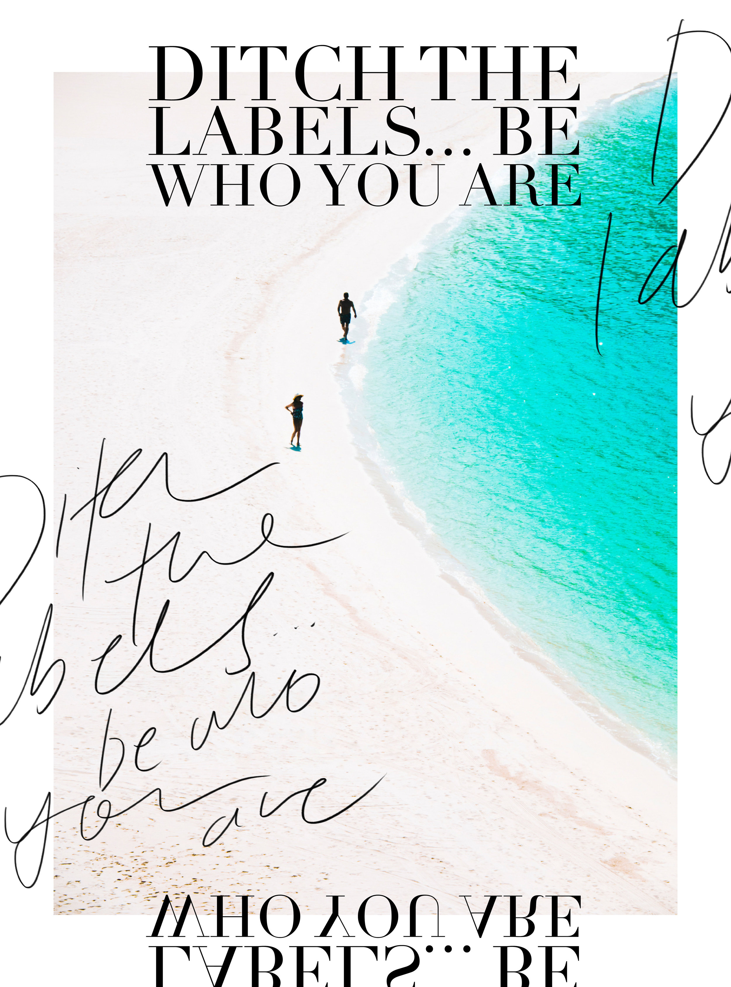 Ditch the labels… Be who you are | freshbysian.com
