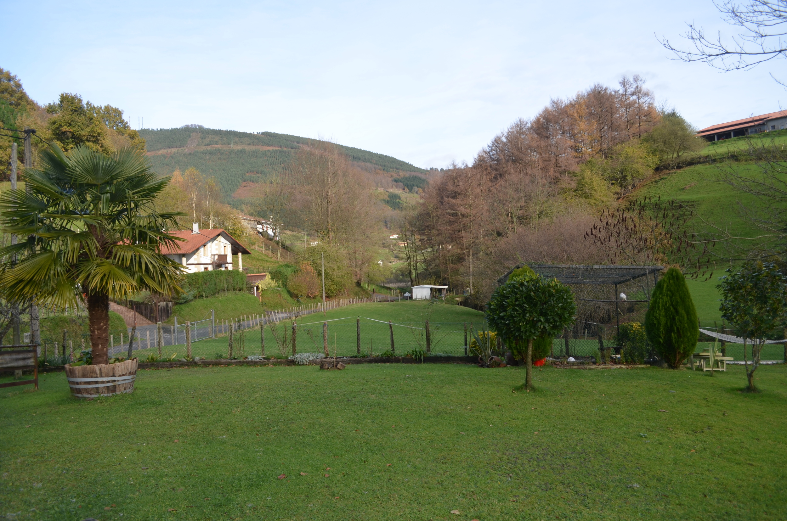 Basque country hills