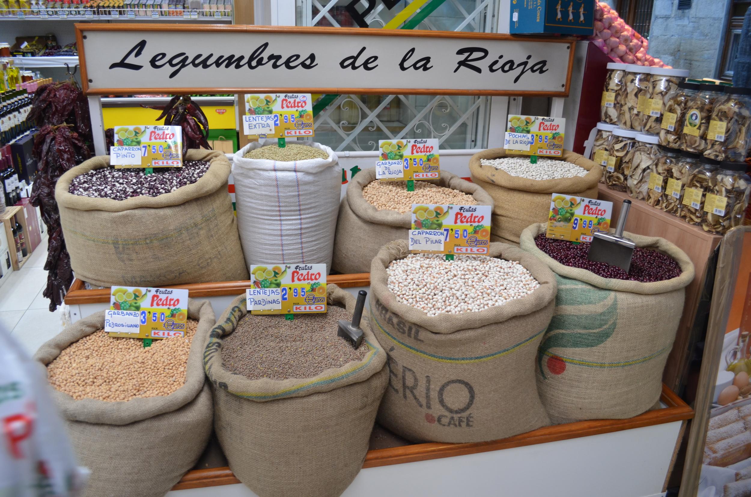 Riojan beans