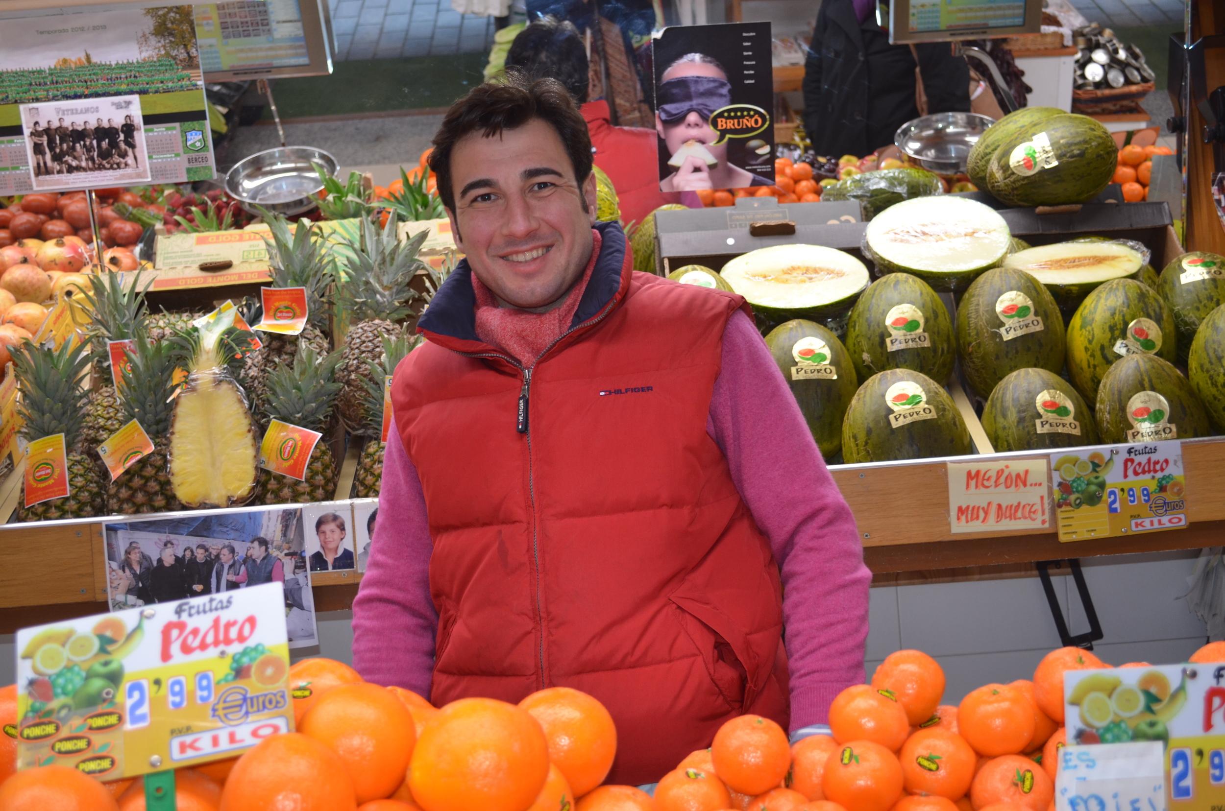 Pedro of Frutas Pedro