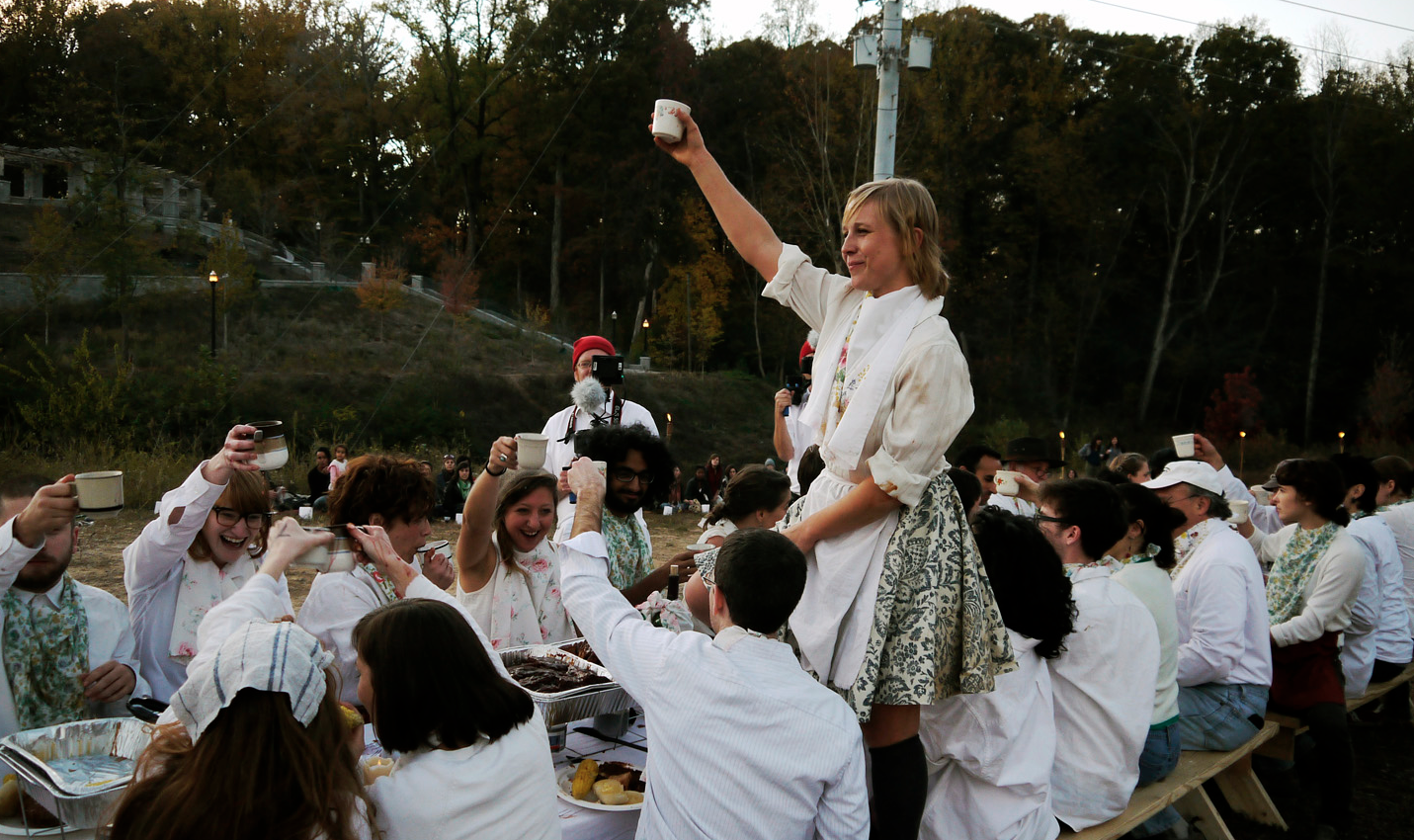 Anti-Manners: A Dance Feast.  Photo: Dylan York, BurnAway Magazine.