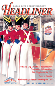 Publishing—Radio City/MSG Entertainment concerts publication, formerly known as Headliner.