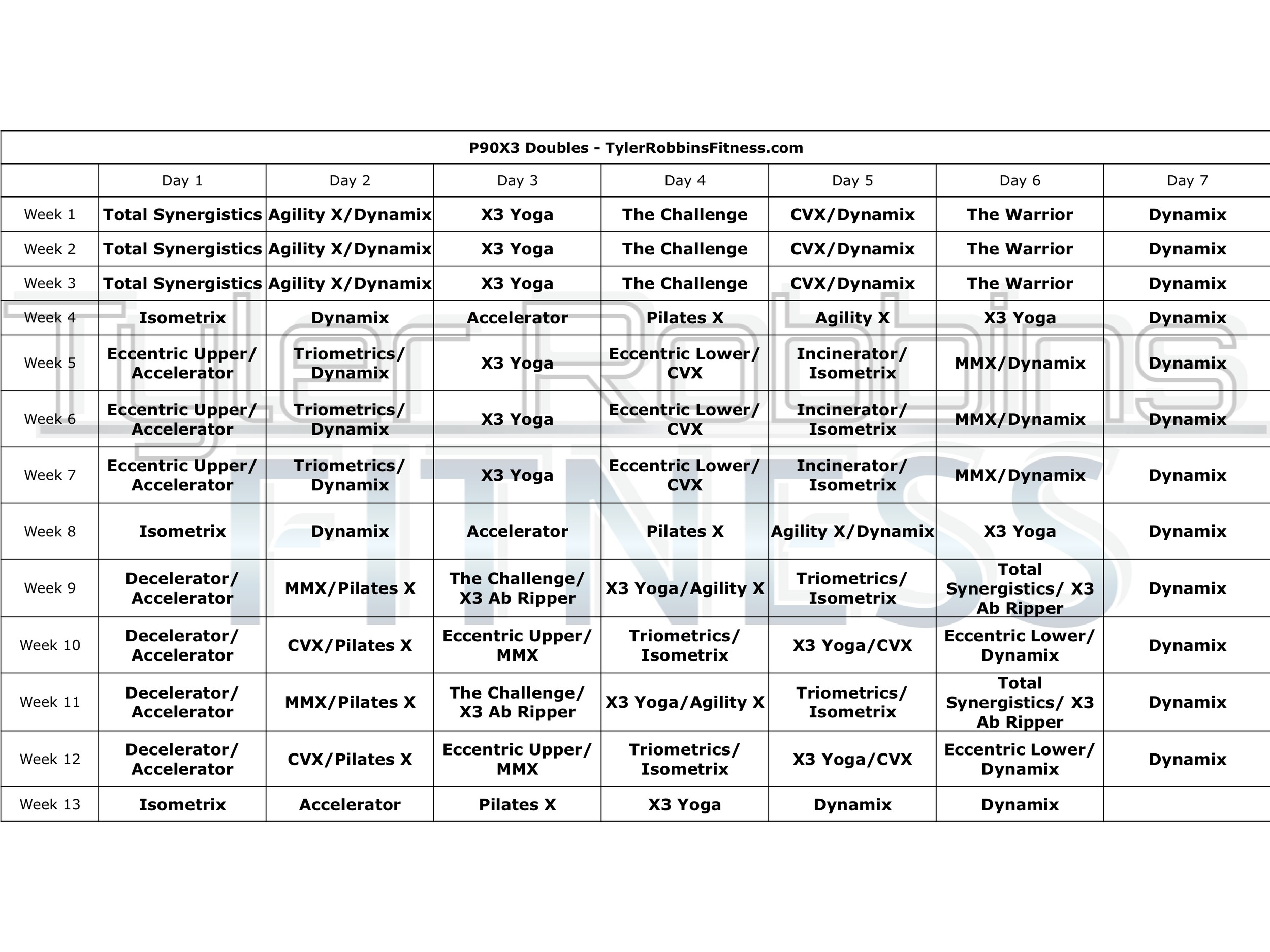 This is a photo of Insanity Schedule Printable with regard to workout motivation