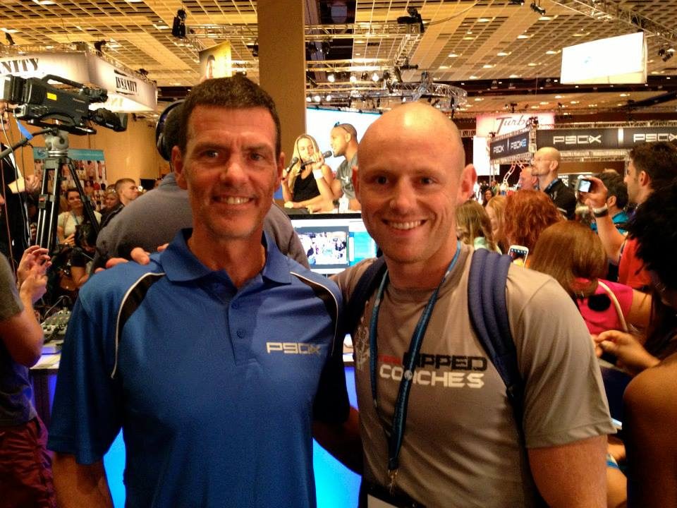 Steve Edwards and I at Beachbody Coach Summit 2013