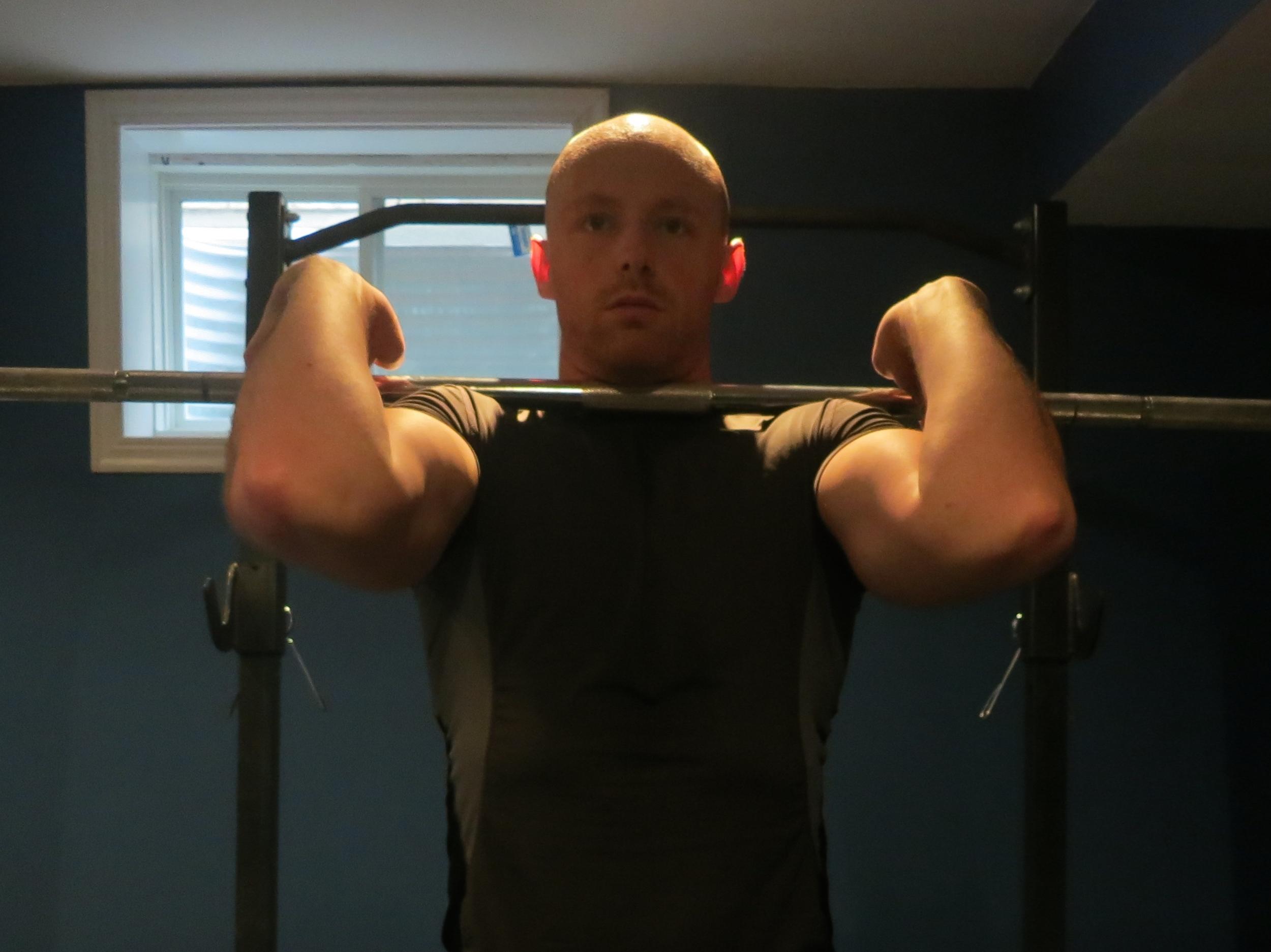 Front squat bar rack
