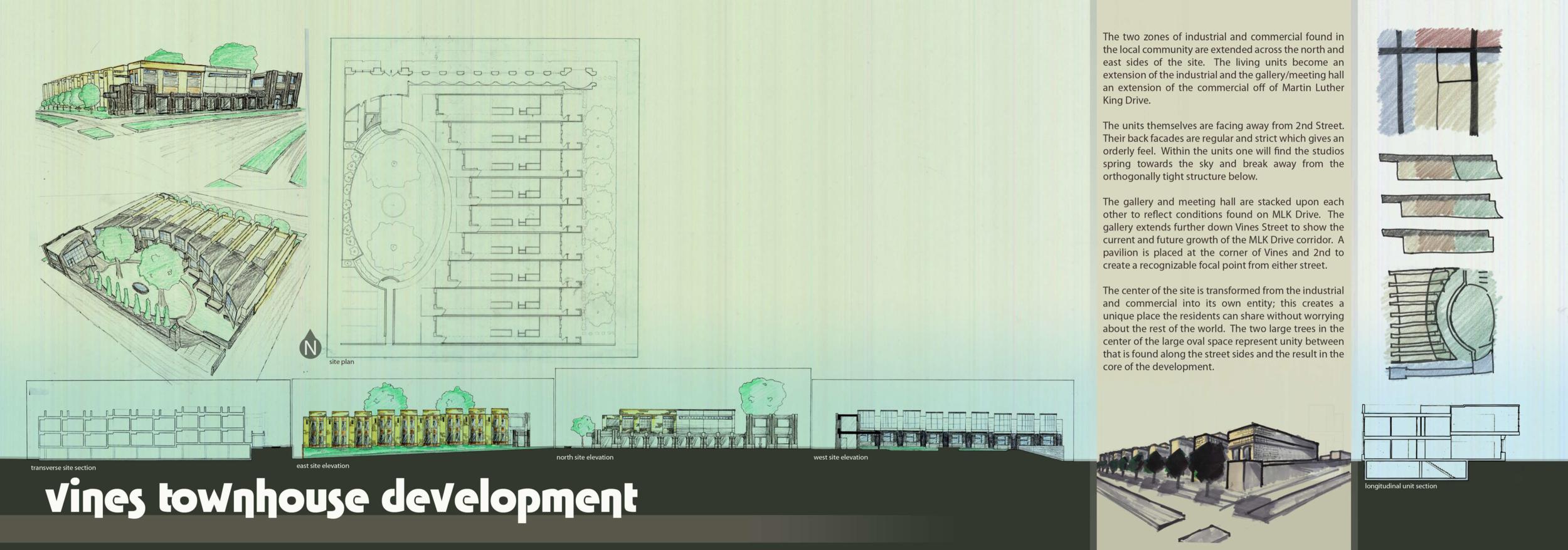 Vines Townhouse Development