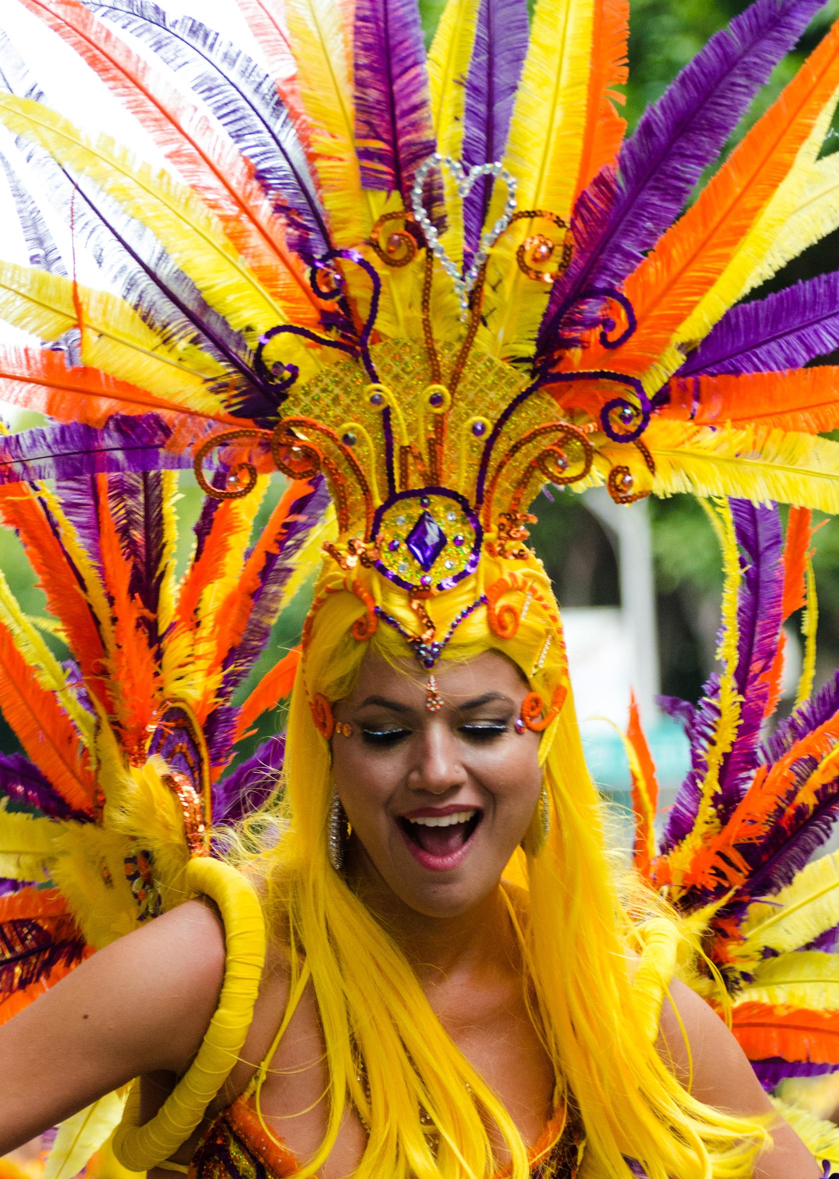 San Francisco Carnaval Parade 2012