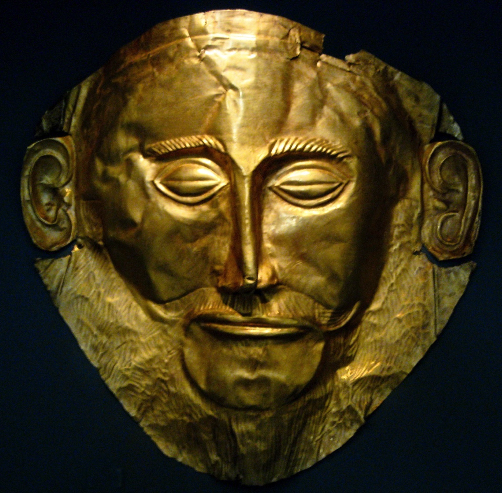 Burial Mask - Mycenae
