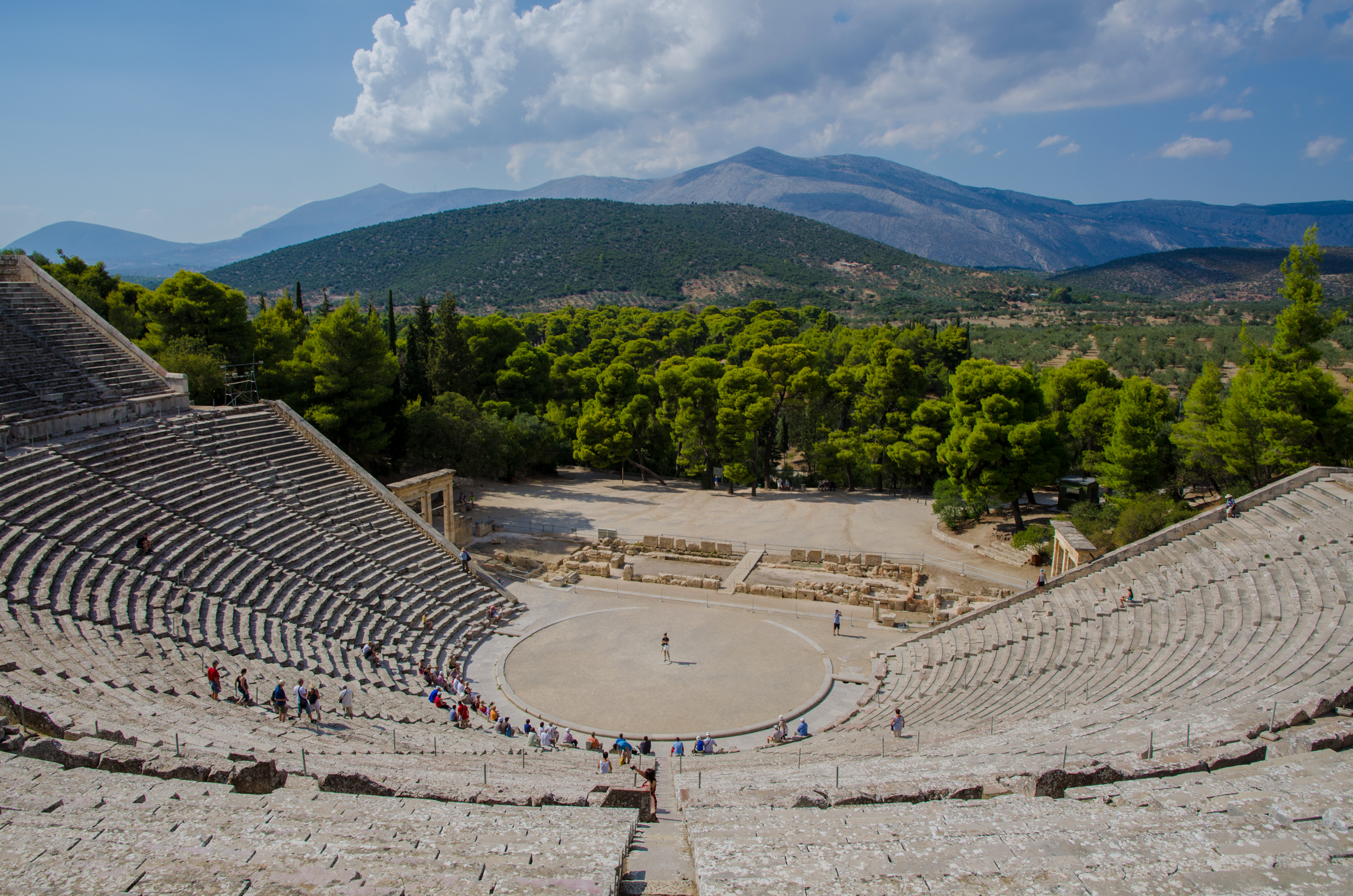 Epidaurus Theatre 4th Century BC