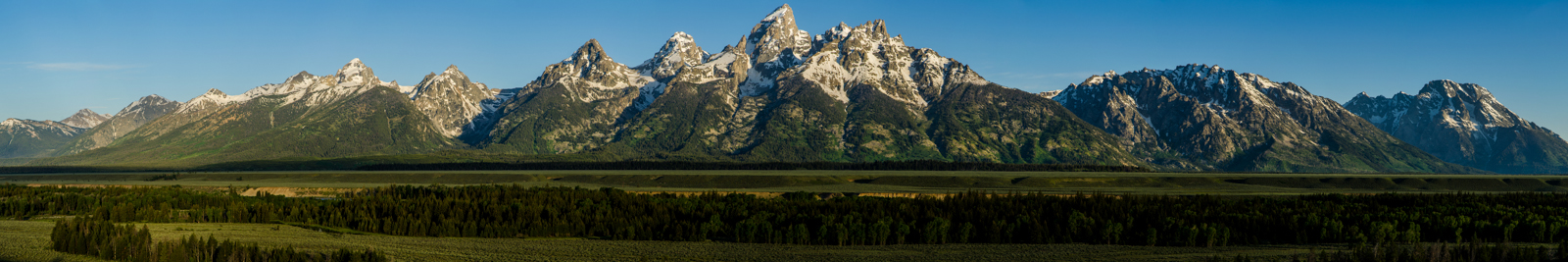 Grand Tetons Range