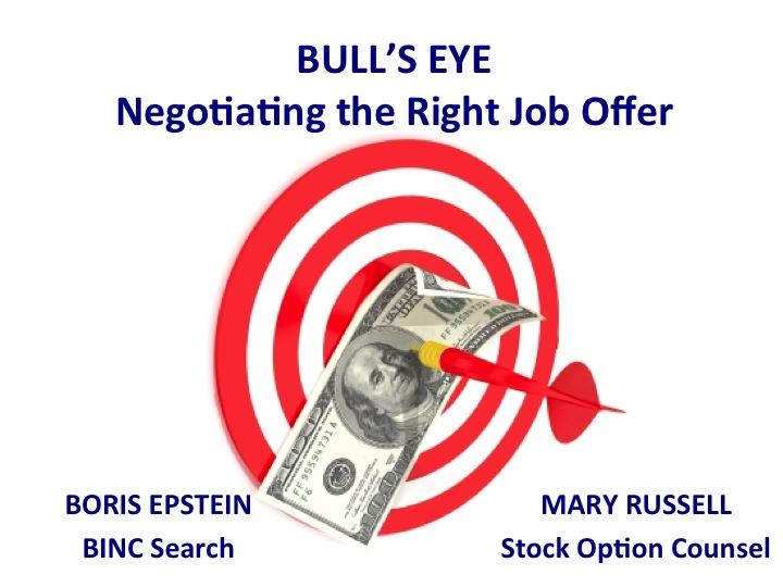 Bulls Eye: Negotiating the Right Job Offer.jpg