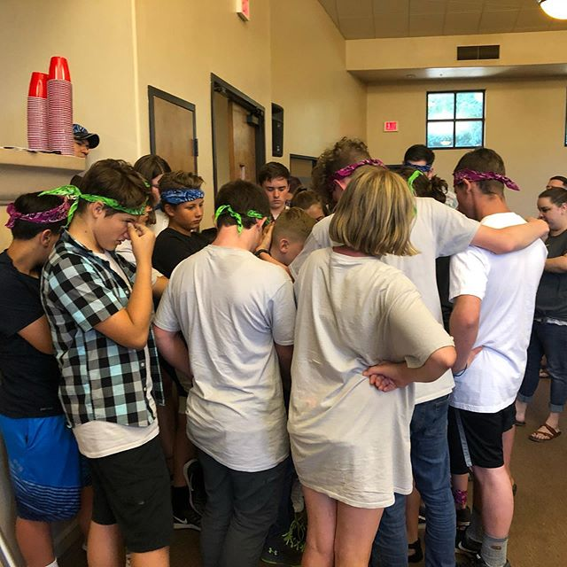Game night turned into a prayer service and we witnessed another miracle. The God of the mountain is with us in the valley.