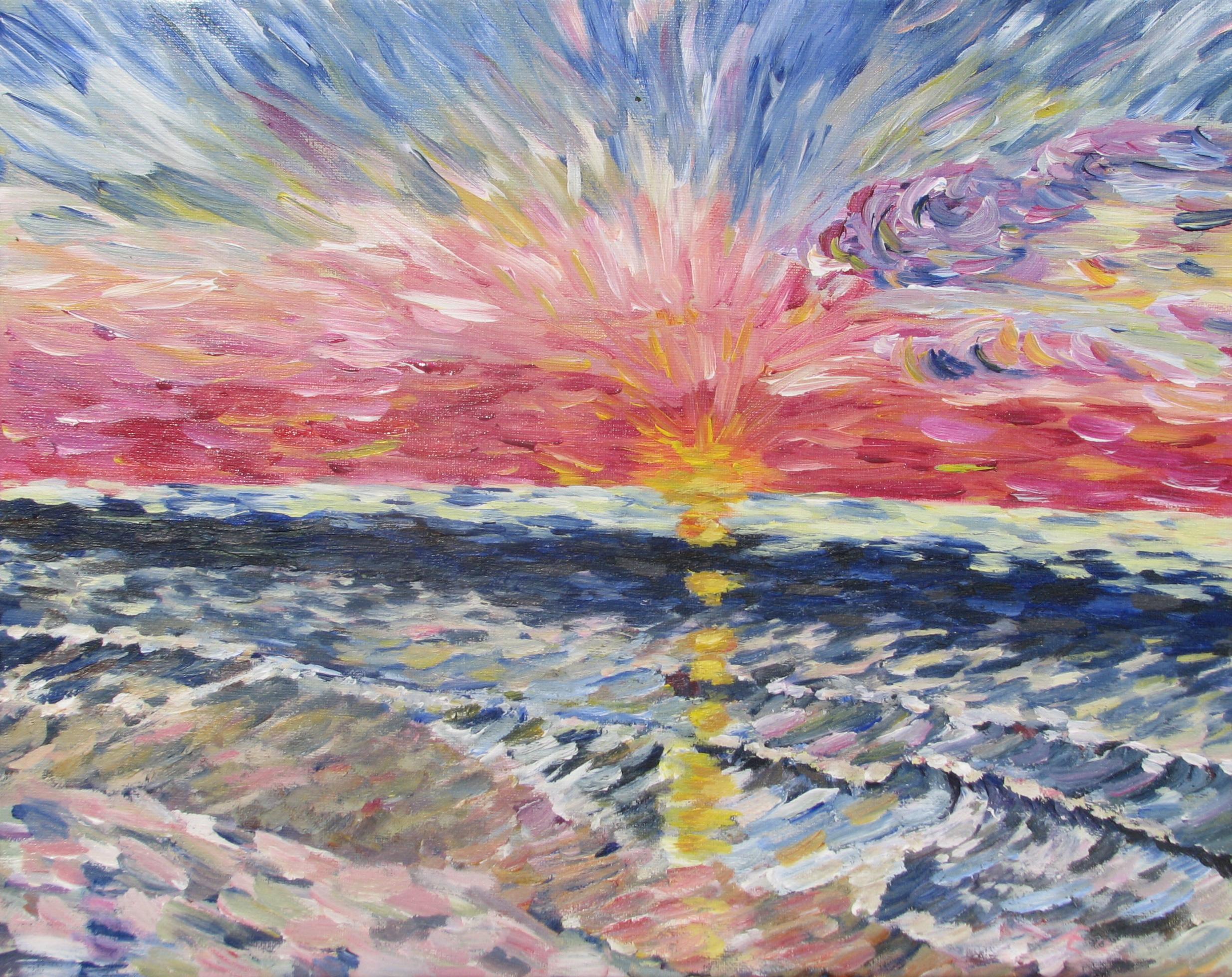 Sunrise at Normandy Beach NJ