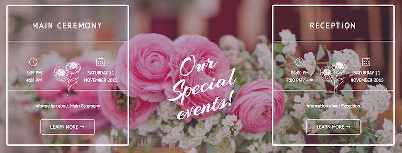 BeardenWedding.com was built on the WordPress CMS. If you have a wedding you would like to build a website for please Contact Us!!