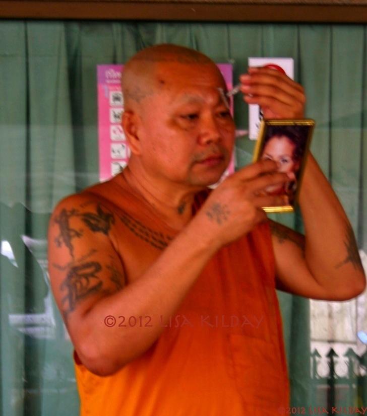 Monk Primping