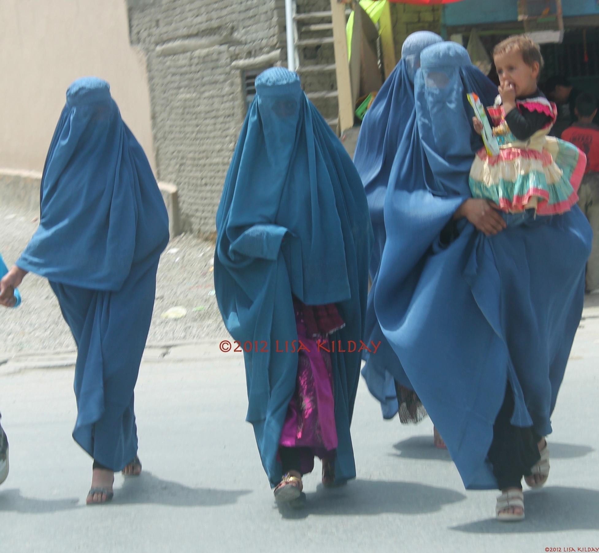 Three Burkas and a Baby